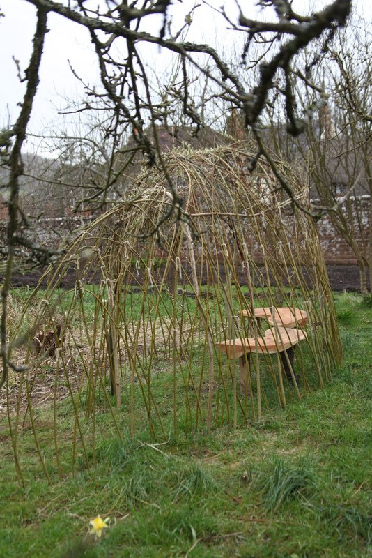 Willow Hide in Gilbert White's Garden