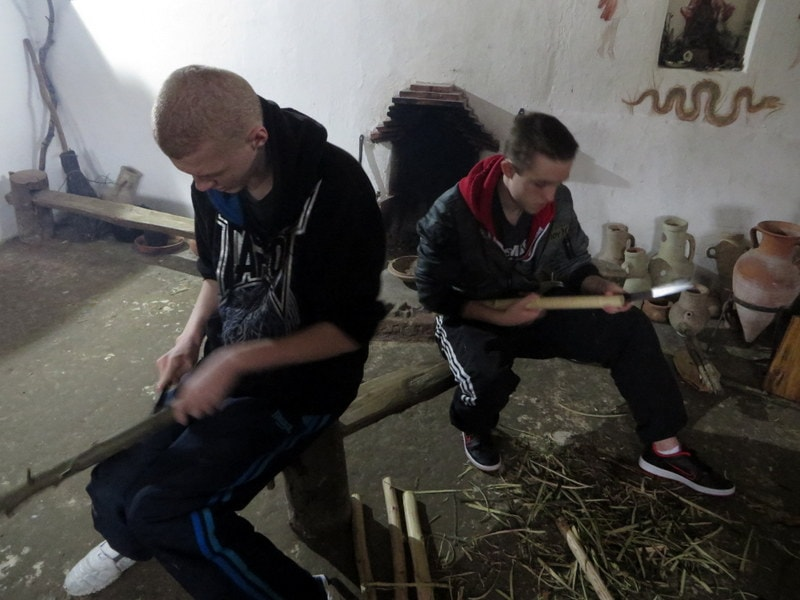 Making Three-Legged Stools