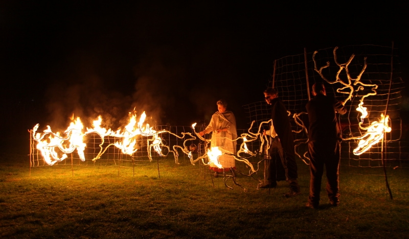 Samhein Fire Sculpture