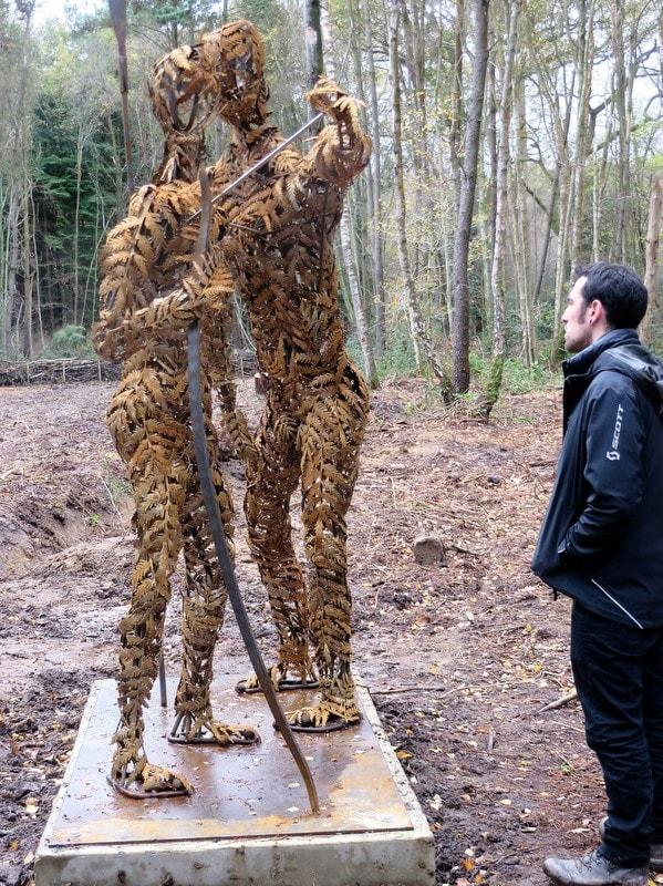 Hunters Sculpture
